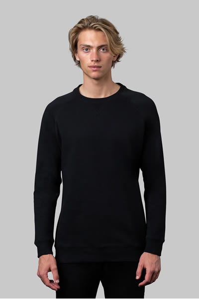 M12 Men's Unbrushed Crew Neck Jumper